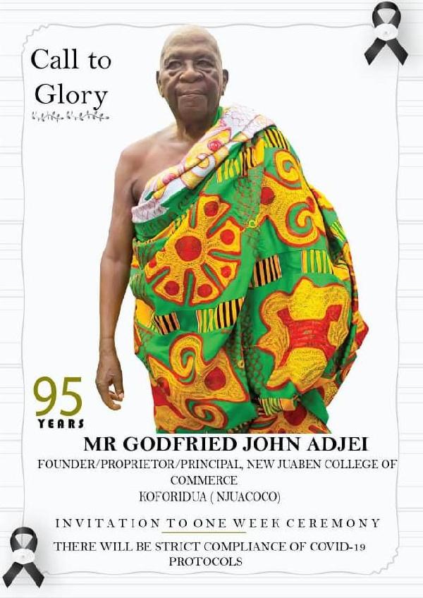 Mr Godfried John Adjei