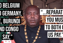 Burundi And Drc Demands Reparations From Imperialist States Of Belgium And Germany
