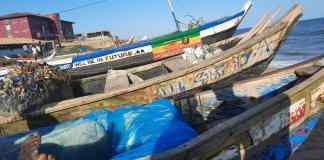 Canoes At Labadi Pic Credit Juliet Etefe, SOA Ghana