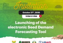 Electronic Seed Demand Forecasting Tool