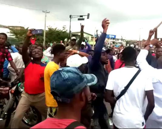 Protesters Nigeria