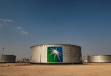 Aramco Oil Facility