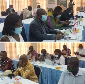 A cross-section of participants at the Seed Legislation Workshop