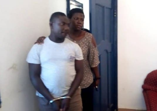 Ernest Ocloo was sacked for raping a student at the staff common room