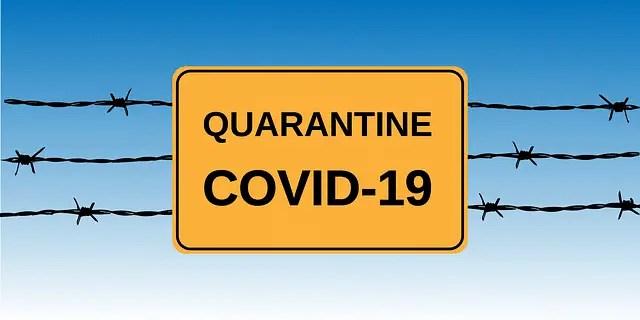 Coronavirus Self -Quarantine