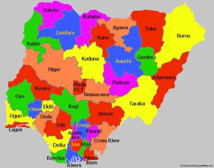 States In Nigeria