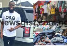 hushpuppi sold okrika clothes