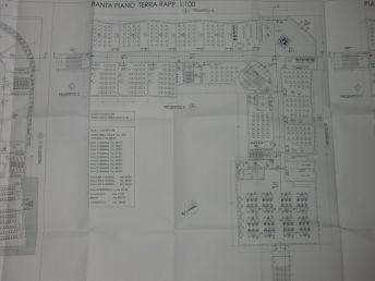 Piano terreno della Scuola di Marco Simone e Setteville Nord