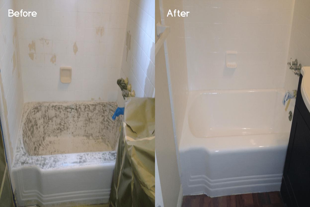 bathroom reglazing in los angeles