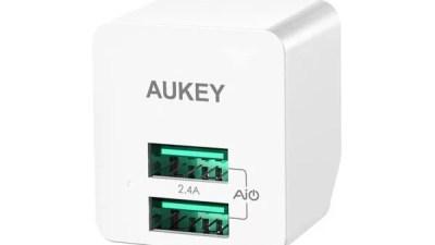 USB充電器はAUKEYのスマートチップ内蔵の「PA-U32」がおすすめ!