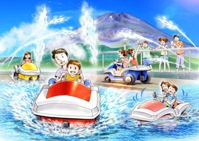 遊園地ぐりんぱに新アトラクション「ビーバーフィーバー」がオープン!