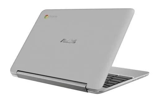 「ASUS Chromebook Flip C101PA」の天板