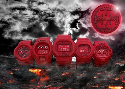 G-SHOCKの35周年記念モデル「RED OUT」が発売!マットなレッドが特徴