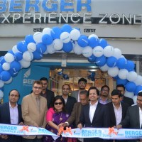 Berger opens Experience Zone in Chandpur