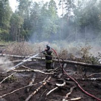Ukraine battles forest fire in Chernobyl nuclear zone