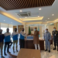 Decathlon donated facial protective masks to DNCC and Police