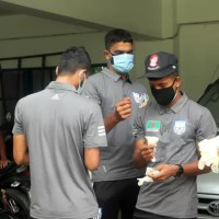 Forty percent of the footballers of Bangladesh national football team are affected by corona