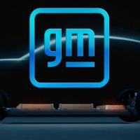 General Motors unveiled a new corporate logo