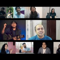 Topu, Rafa & hundreds of students virtually sing on friendship day