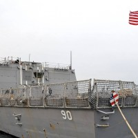 Russia says it chased out US navy ship from its waters