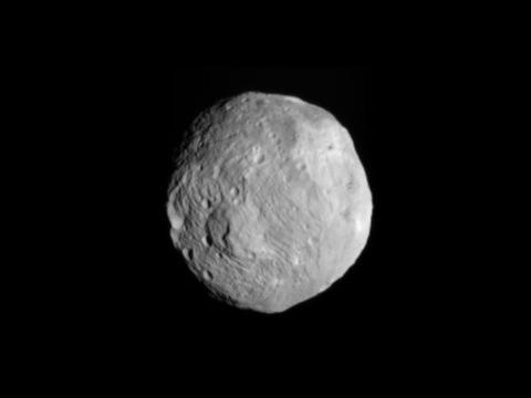 Vesta as seen by Nasa's Dawn spacecraft