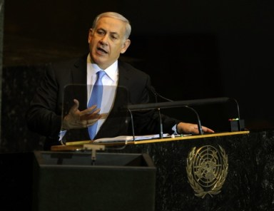 bibi netanyahu 2011 un speech