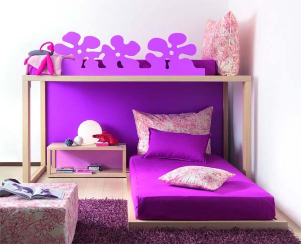 Romantic colors bedroom decorate by Dearkids 5 Romantic colors bedroom decorate by Dearkids
