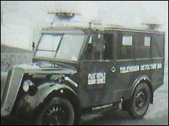 BBC TV detection van, 1952