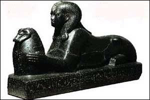 Black pharaoh [pic: Toulouse Museum]