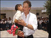 Blair using Iraqi pupil as propaganda prop