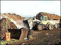 Composting site