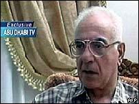 Mohammed Saeed al-Sahhaf on Abu Dhabi TV