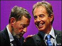 Blunkett and Blair