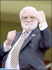 Leeds United chairman - Ken Bates