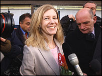 BBC image of Katharine Gun, who tried to stop the Iraq War