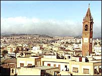 Asmara skyline