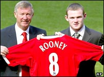 Rooney - a United player
