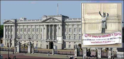 Image result for fathers for justice buckingham palace