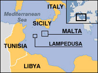 Lampedusa and Malta