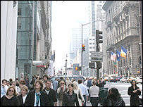 People on Fifth Avenue, New York