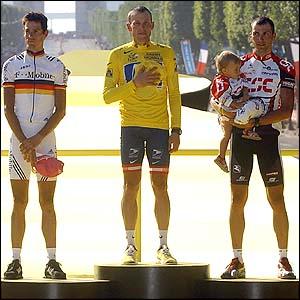 Podium Tour 2004 Armstrong Basso Kloden