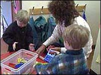 A nursery school