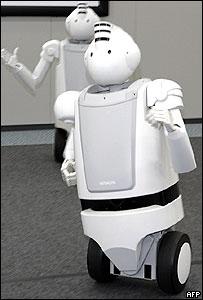 روبوت أيميو من شركة هيتاتشي، الأسرع �تى الآن