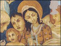 Hindu looking navitity