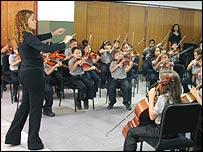Venezuelan youth orchestra