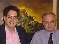 Alvaro y Eduardo Bedoya