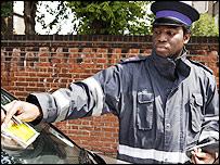 Ticket Wardens in London
