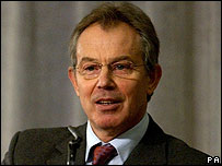 Tony Blair, linked from BBC News website 13-02-2006