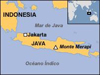 BBC Mundo | Internacional | Alerta roja por volcán en Indonesia