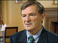 BBC News image of Bill Campbell: Former Shell Group Auditor